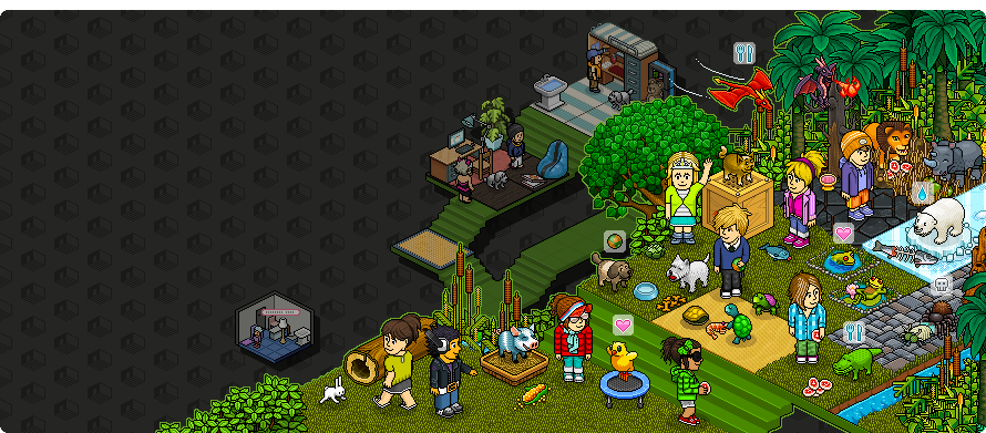 Release habbo hotel views forum for Crea il tuo avatar arreda le tue stanze