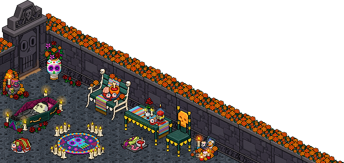 Habbo Halloween.Halloween At Habbo
