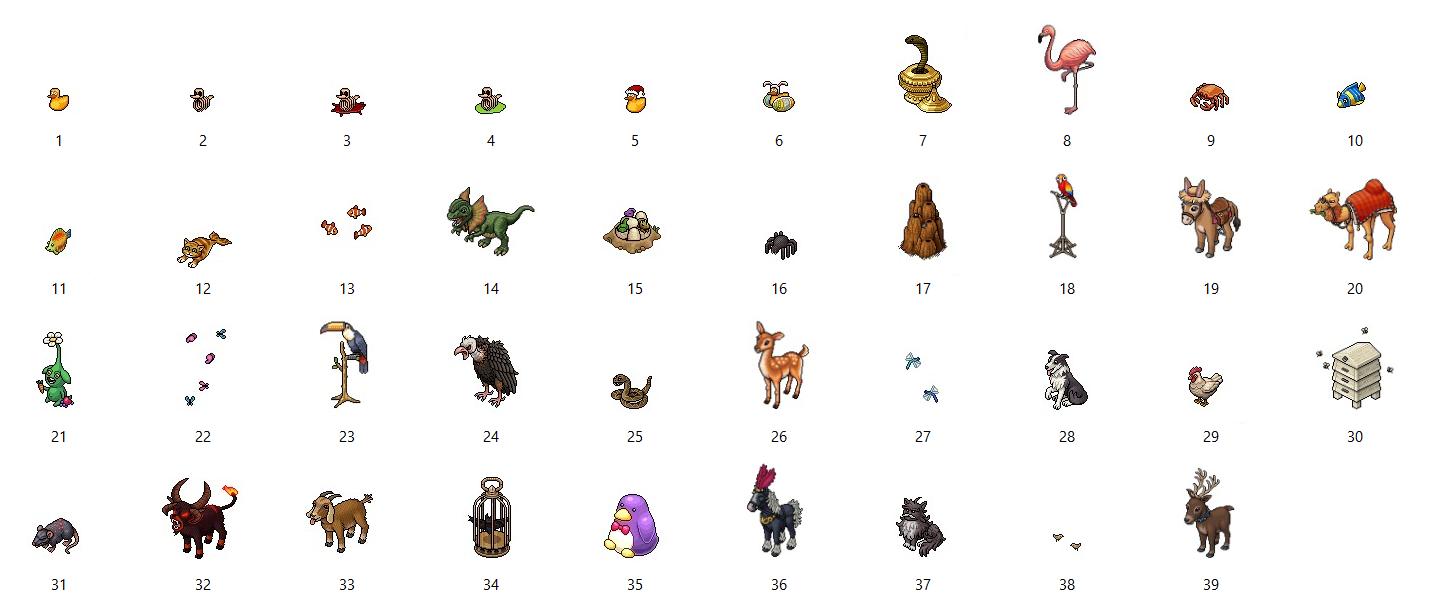 In arrivo 8 offerte a tema Animali, Piante e Macchinari - Pagina 2 Tto_animals