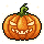 Secret Badge 1/3 - Evil Pumpkin