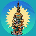 Immagini campagna Tailandia di Giugno 2021 Spromo_yakgodstatue