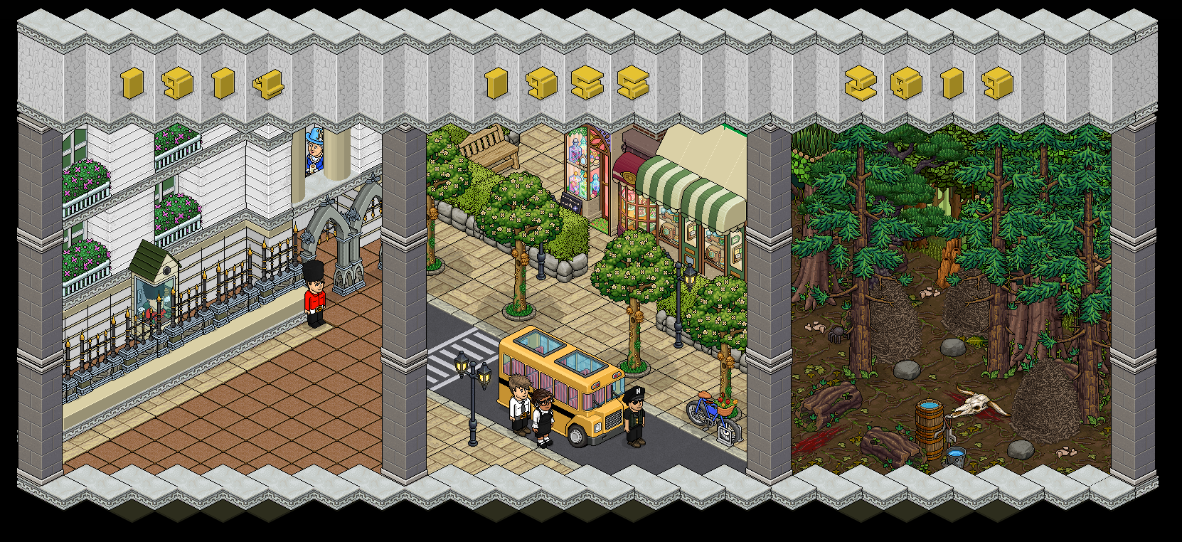 Builder S Corp Baw Edition Meet The Teams Habbo
