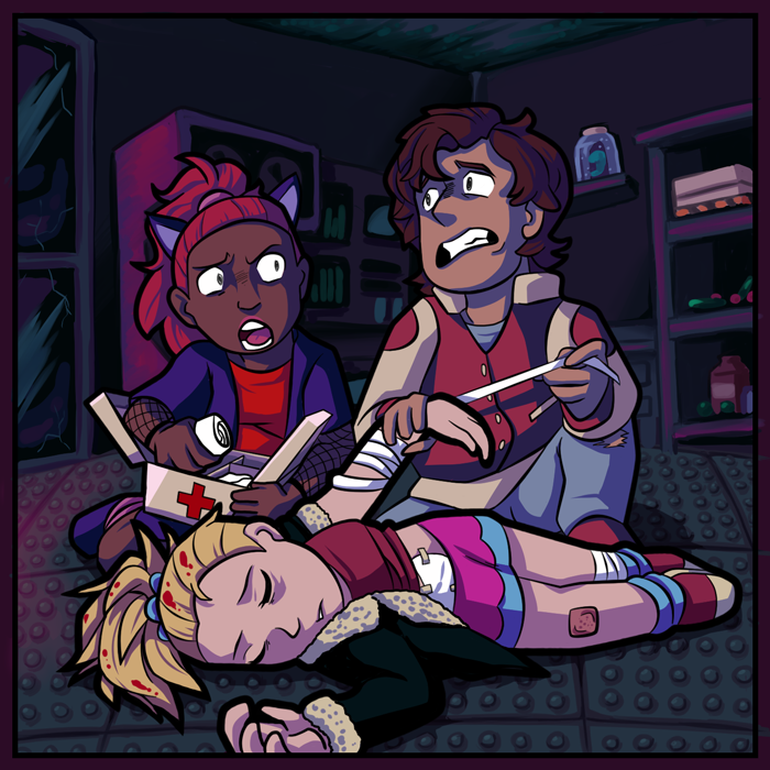 """[ALL] Immagini """"Laboratorio infetto"""" per Habbo Halloween 2018 Comic-4"""