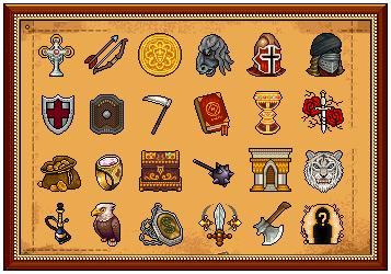 Emblemas CRUZADAS