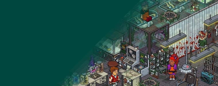 Neste Habboween: Laboratório Tóxico!